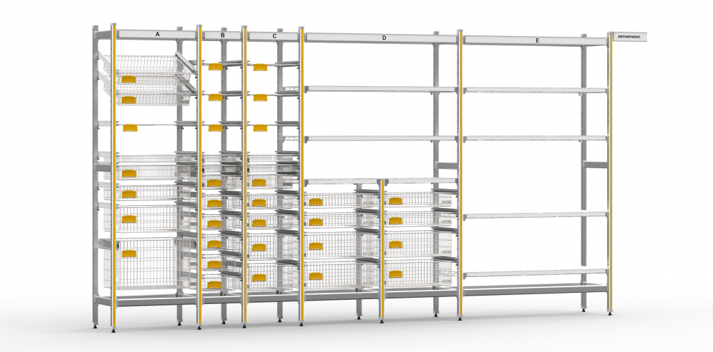 STERIRACK™ System - the gold standard healthcare storage solution