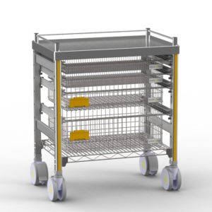 STERIRACK™ Trolley - the gold standard healthcare storage solution