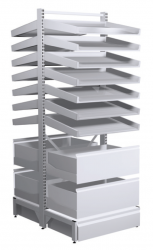 Pharmacy shelving storage